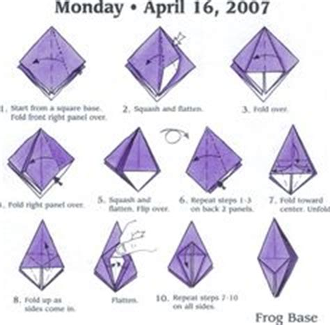 Simple Origami Shapes - 1000 images about origami basic shape on
