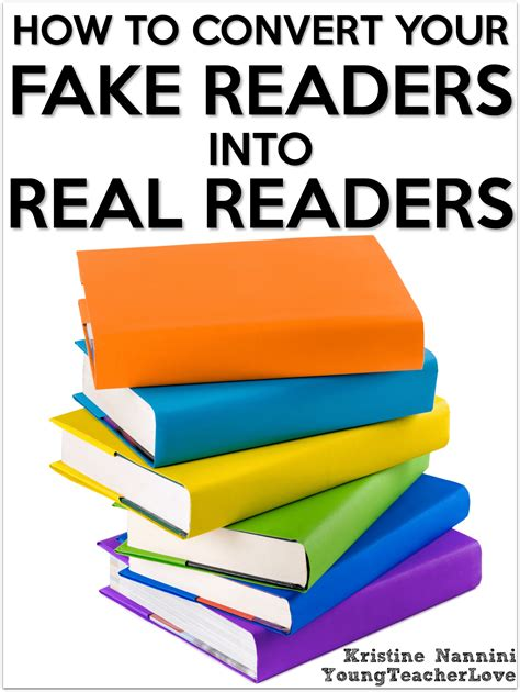 reader s how to convert your fake readers into real readers young