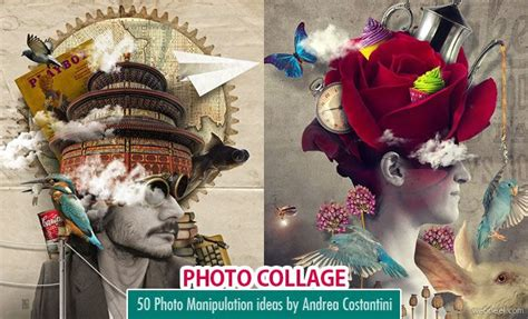 creative picture collage ideas 40 creative photo collage effects and photoshop collage