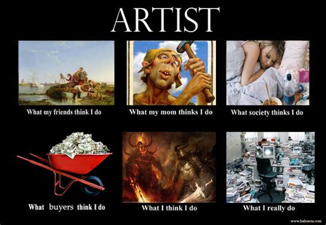 Meme Artist - balnacra arts blog what i think i do meme artist