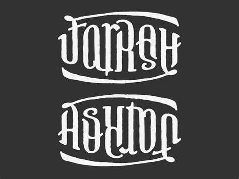 farrah tattoo farrah ashton ambigram by bezierwrangler on deviantart