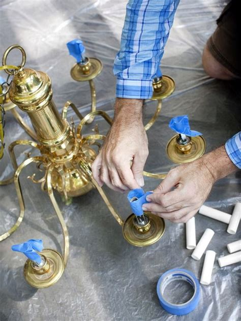 How To Paint A Chandelier 40 Brilliant Spray Paint Uses To Make Your Stuff More Expensive Bored