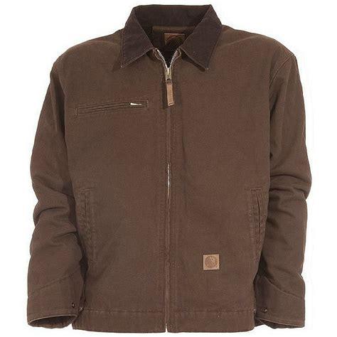 Washed Fleece Lined berne original washed gasoline jacket fleece lined all