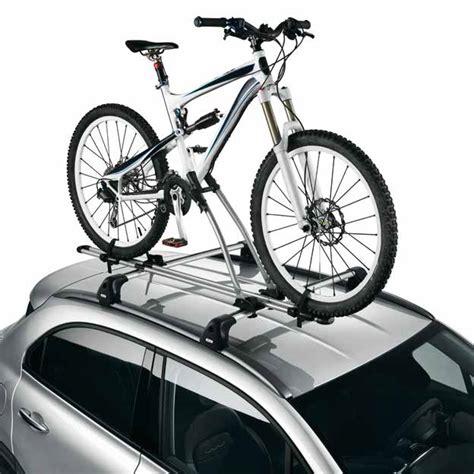 porta bici x auto portabici da tetto in acciaio originale fiat 500x