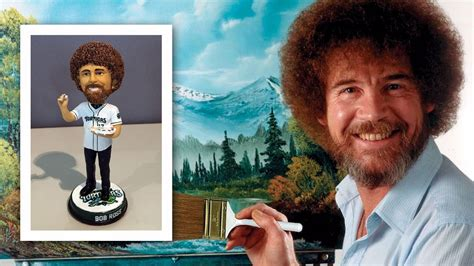 bobblehead bob ross reds minor league team to host bob ross promotion