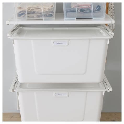 ikea tool storage algot lid white 38x60 cm ikea