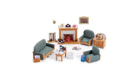 Calico Critters Deluxe Living Room Set Up To 21 On International Playthings Ca Groupon Goods