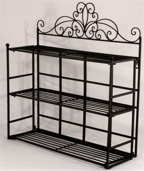 Black Metal Wall Shelf Shabby Chic Black Metal Wall Shelf Storage Unit Amazing