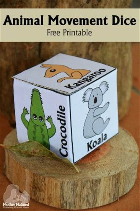 printable animal dice 17 best ideas about dice on pinterest wooden pencils