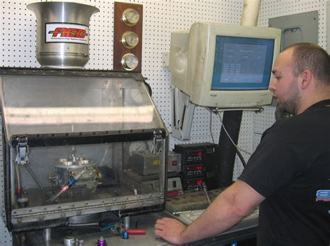carburetor flow bench john dickey picking the right carburetor for your engine