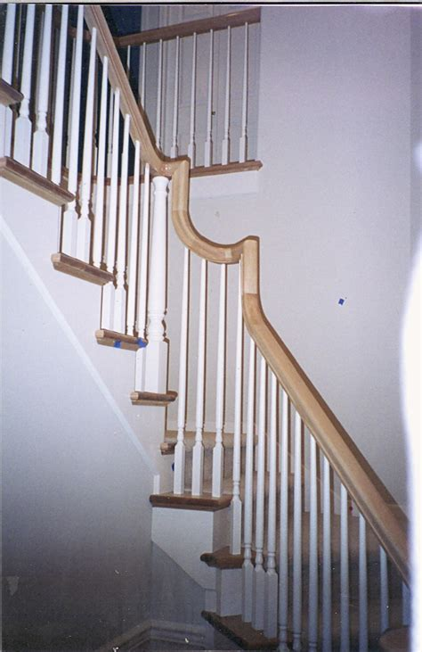 how to restain stair banister restain railing home design ideas