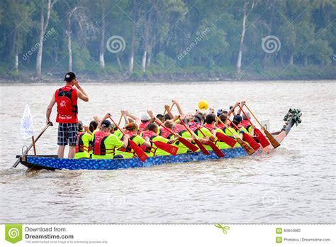 dragon boat racing winnipeg dragon boat race editorial image image of decoration
