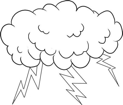 Lightning Bolt Coloring Pages Cliparts Co Lightning Coloring Pages