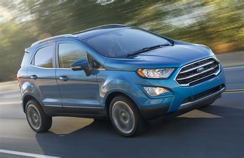 Small Ford Suv by All New 2018 Ford Ecosport Finally Sign In United States