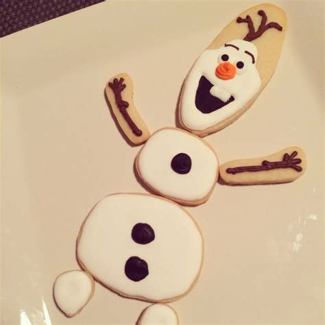 Olaf Cookies   Design by Lizybbakes   My cookie creations