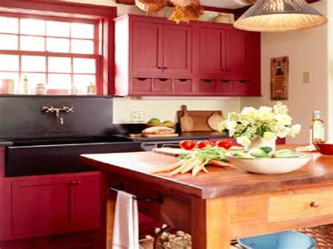 red country kitchen cabinets red country kitchens