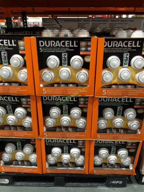 duracell 5 led puck lights costco 689314 duracell 5pk led puck lights all costcochaser