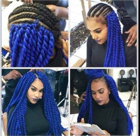 Blue New Hairstyle by Hat Blue Hairstyles Blue Hair Blue Hair