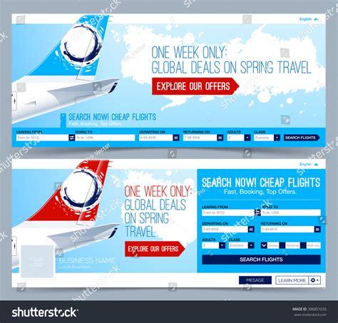 Booking Tickets Flight Template Search Flights Stock Vector 396851026 Shutterstock Ticket Booking Website Template