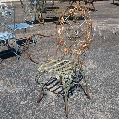 wrought iron garden table antique wrought iron chairs antique furniture