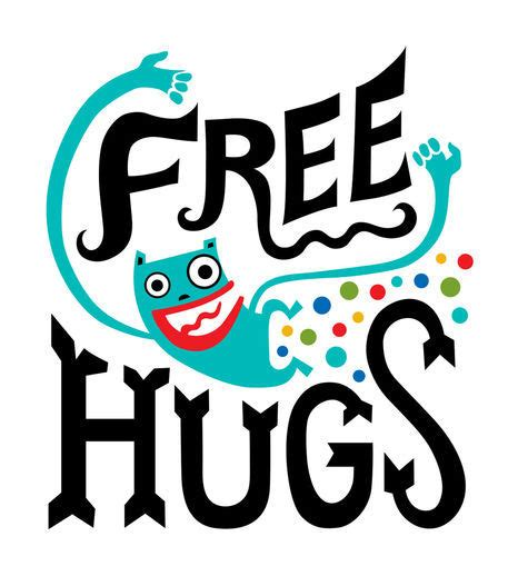 Free Hugs quot free hugs quot comic prints and posters by bird