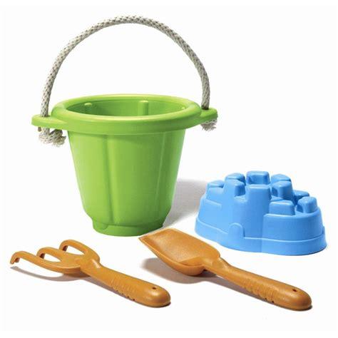 buitenspeelgoed set zandbak speelgoed gerecycled groen green toys