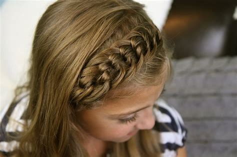 headband hairstyles easy 8 fun easy hairdos for your daughter headband tutorial
