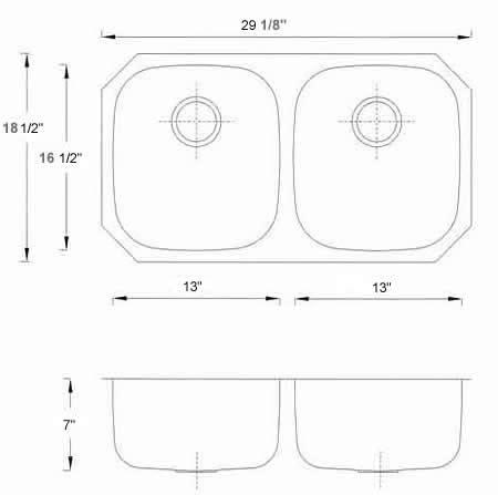 Bowl Kitchen Sink Sizes Bowl Kitchen Sink Sizes Luxurydreamhome Net
