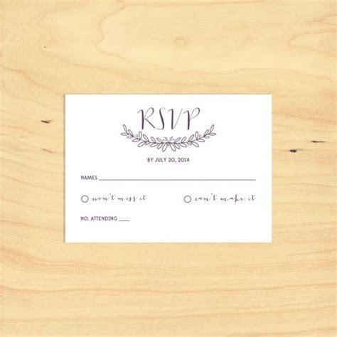 Printable Rsvp Card | printable rsvp card
