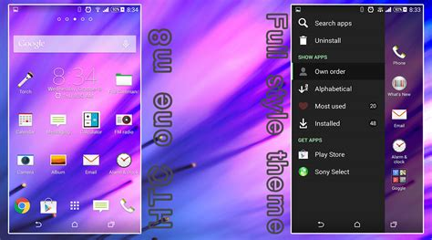 htc sense 6 apk install htc sense 6 theme with icon pack on xperia devices inspired from htc one m8