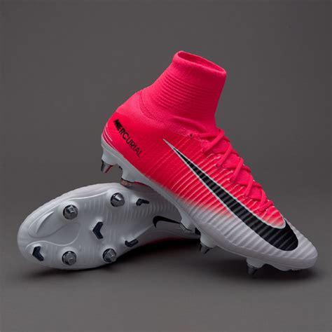 botas de futbol nike mercurial superfly  sg pro rosa