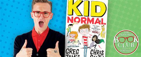 tom fletcher book club kid normal by greg james and smith whsmith blog tom fletcher book club archives whsmith blog