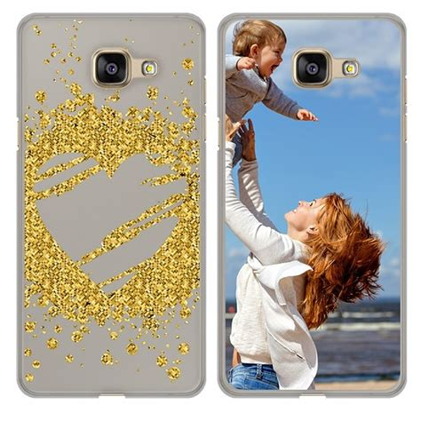 Softcase Shining Samsung A3 2017 hoesje maken samsung galaxy a3 2017 softcase met foto
