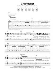 Chandelier Chords Chandelier Partition Par Sia Tablature Guitare Facile