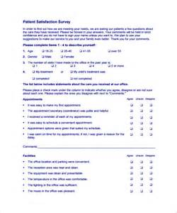 dental patient satisfaction survey template patient survey template free documents in word pdf