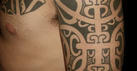 tattoo removal eastbourne freehand marquesan sleeve by chris higgins higgins and co