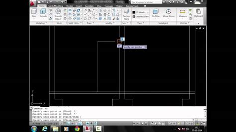 autocad tutorial hindi how to cut plan section in autocad 2010 in hindi youtube