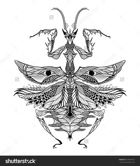 mantis tattoo mantis pesquisa desenho