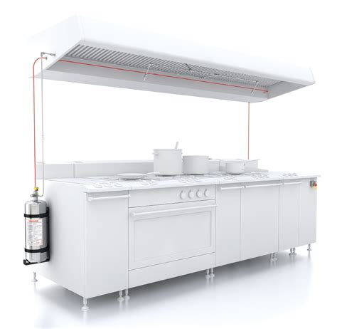 Kitchen Automatic Extinguishing System Firedetec Commercial Kitchen Suppression And