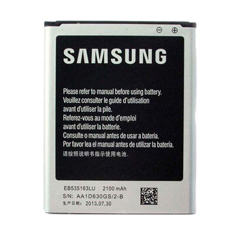 Baterai Battery Samsung Galaxy Grand I9082 Original jual samsung eb535163lu battery galaxy grand duos i9082