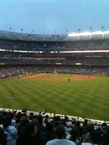 section 203 yankee stadium yankee stadium section 203 row 13 seat 8 new york