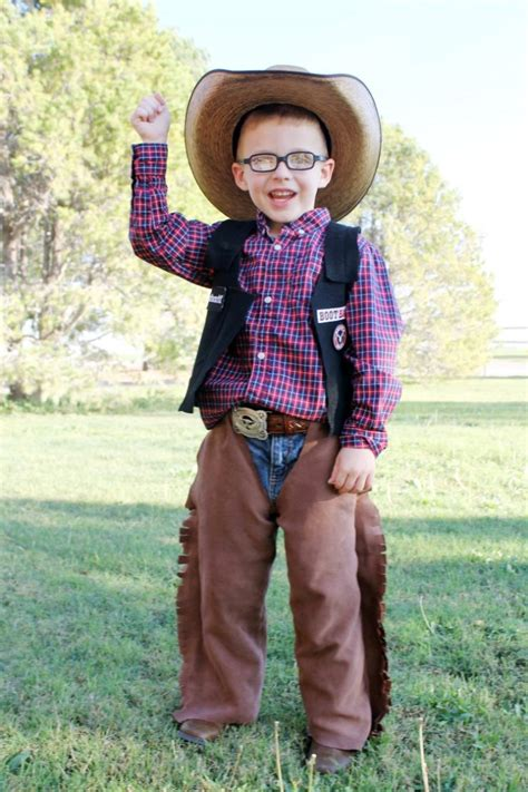 bull rider costume diy rodeo cowboy bull rider costume idea printable tag child at