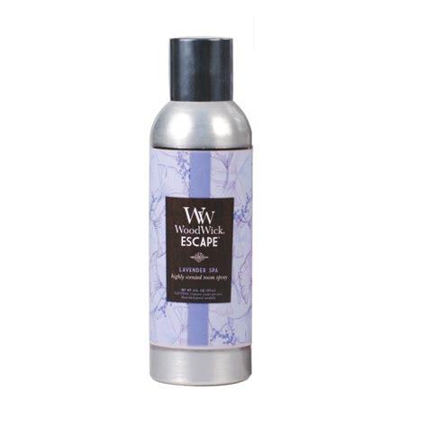 Room Fragrance by Lavender Spa Room Fragrance Spray Woodwick Escape 6oz 177ml