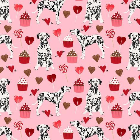 dalmatian valentines fabric dogs dalmatians