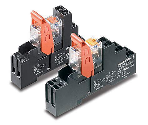 Relay Weidmuller weidmuller expands line of industrial relays