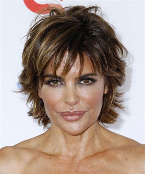 lisa rinna tutorial for her hair lisa rinna hairstyle click to try on hair pinterest