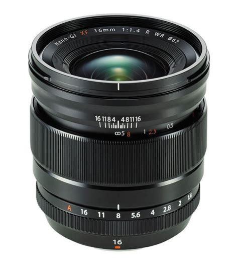 fujifilm xf 16mm f 1 4 r wr lens
