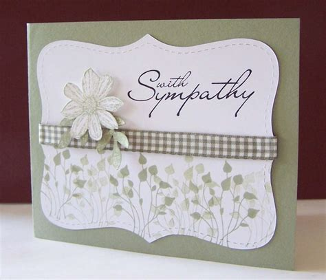 Handmade Sympathy Card - 414 best images about sympathy cards on