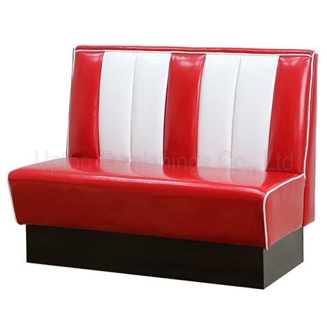 50s style leather sofa sp ks269 retro 50s style bel air diner booth