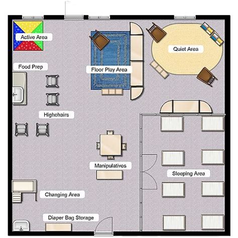 classroom layout preschool 1000 images about child care architecture on pinterest
